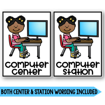 Centers Signs or Station Signs