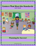 Centers That Meet the Standards: Grade 1