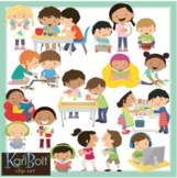 Centers and Activities Clip Art