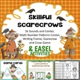 Centers and Writing Frames:  Skillful Scarecrow PDF