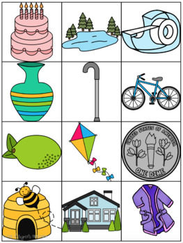 Centers by Design: CVCe Word Sort