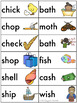 Centers by Design: Digraphs Word Sort {SH, CH, TH, & WH}