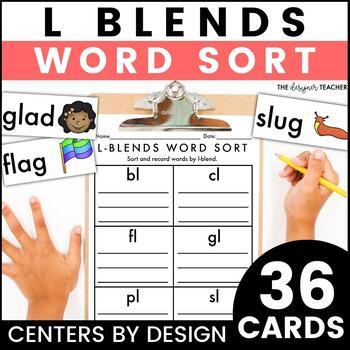 Centers by Design: L Blends Word Sort