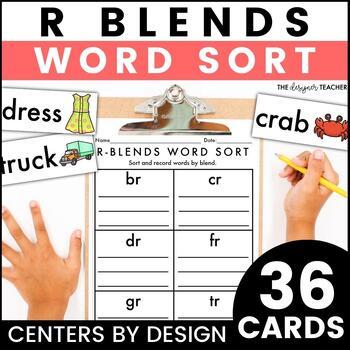 Centers by Design: R Blends Word Sort