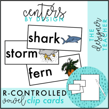 Centers by Design: R-Controlled Vowel Word Sort
