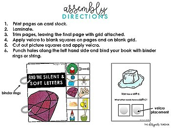 Centers by Design: Silent Letters & Soft Letters Adapted Book
