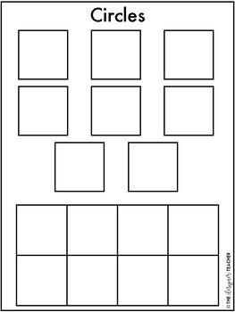 Centers by Design: Sorting 2D Shapes File Folder Tasks
