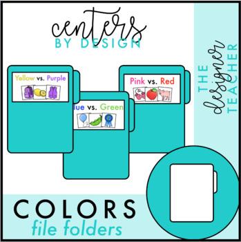 Centers by Design: Sorting Colors File Folder Tasks