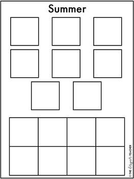 Centers by Design: Sorting Seasons File Folder Tasks