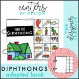 Centers by Design: Vowel Diphthongs Adapted Book