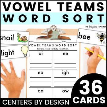 Centers by Design: Vowel Teams Word Sort