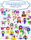 Centers clipart bundle {Multicultural}