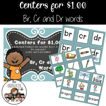 Centers for $1.00: Br, Cr and Dr Words