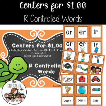 Centers for $1.00: R- Controlled Vowels