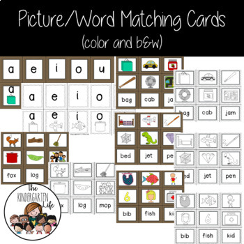 Centers for $1.00: Short Vowel Words