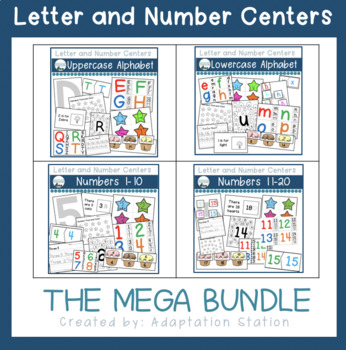 Centers for Early Childhood or Special Education (The Bundle)