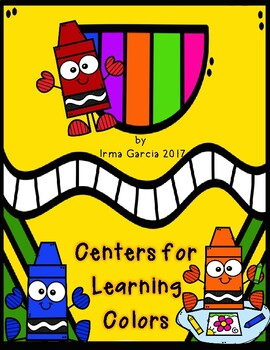 Centers for Learning Colors