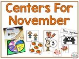 Centers for November