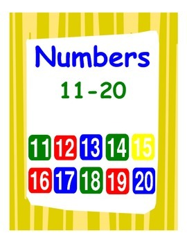 Centers for Numbers 11-20