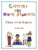 Centers for Older Students