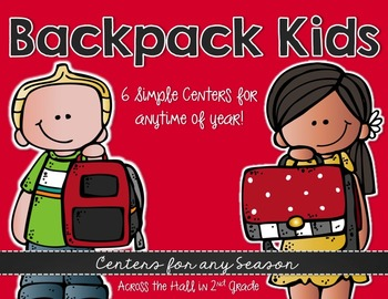 Centers for any Season {Backpack Kids}