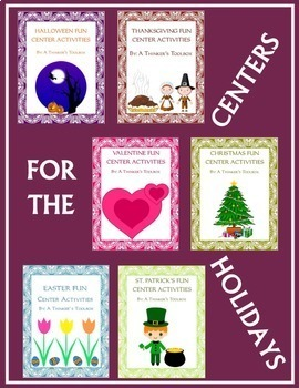 Centers for the Holidays BUNDLE