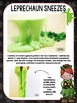 Centers for the Month of March - Leprechaun Sneeze Slime Activity