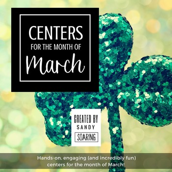Centers for the Month of March {St. Patrick's Day Themed Centers}