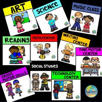 Centers in Preschool