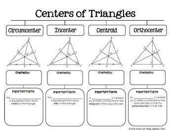 Relationships in Triangles (Geometry Curriculum - Unit 5) by All ...