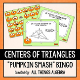 Centers of Triangles Bingo