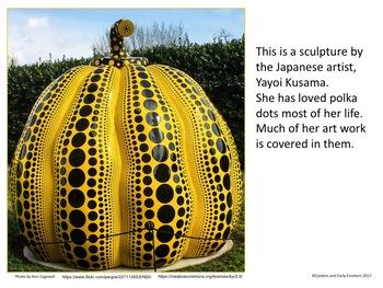 The Patterned Pumpkins of Yayoi Kusama