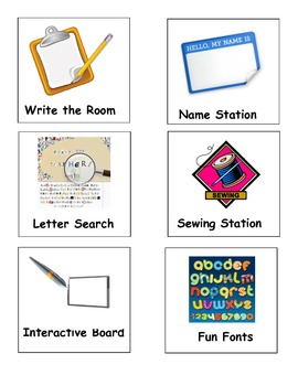 Centers/Station Signs