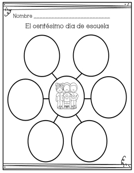 Centésimo dia de escuela (100th day of school SPANISH)