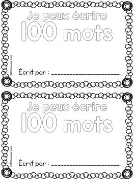 Centième jour d'école - 100th Day