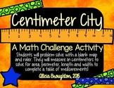 Centimeter City: Measurement, Area & Perimeter Challenge