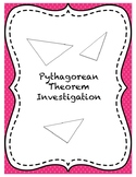 Centimeter Cube Pythagorean Theorem Investigation