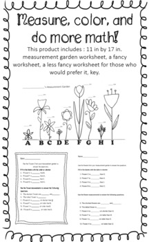 Centimeter Measurement Garden