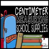 Centimeter Measurement Task Cards