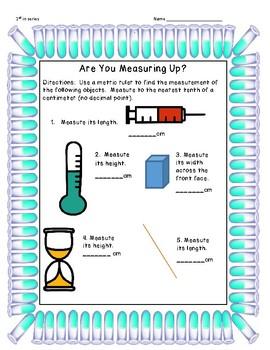 Centimeter Measuring Practice