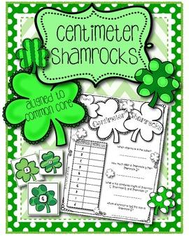 Centimeter Shamrocks