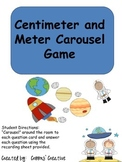 Centimeter and Meter Carousel Game