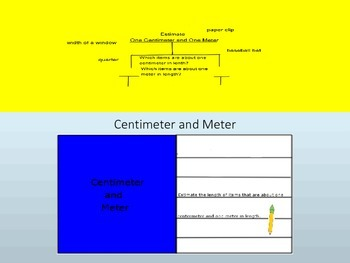 Centimeter and Meter InteractiveLesson