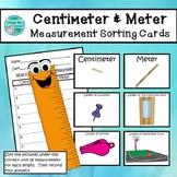 Centimeter and Meter Unit of Measurement Sorting Cards