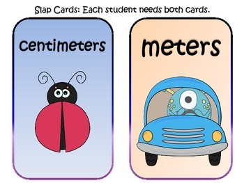 Centimeter vs. Meter Slap