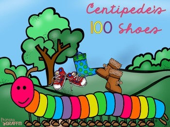 Centipede's 100 Shoes! {Integrating Math & Literature}