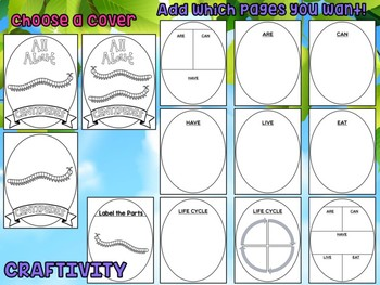 Centipedes : Graphic Organizers and Writing Craft Set : Insects and Bugs