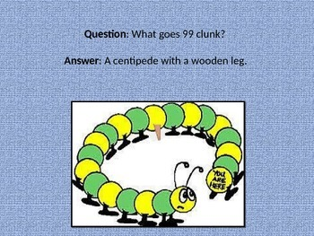 Centipedes and Millipedes Powerpoint