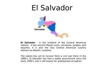 Central America - A World Region PowerPoint