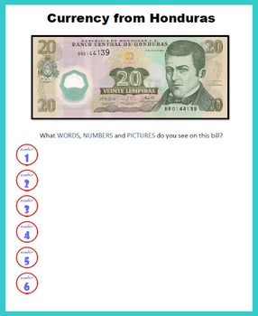 Central America - Coins and Currency (Money)